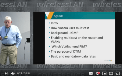 Multicast on WLAN with Dermot Allen a video from WLPC Phoenix 2020