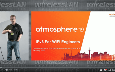 IPv6 for WLAN Engineers with Charlie Clemmer a video from WLPC Phoenix 2020
