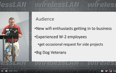 Business of Wi-Fi Consulting with Neil Mavis a video from WLPC Phoenix 2020