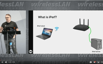 iPerf2 vs iPerf3 with Panos Vouzis a video from WLPC Phoenix 2020