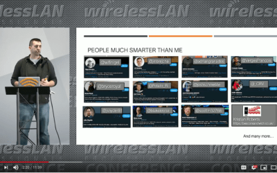 WLAN Pi Project with Jerry Olla a video from WLPC Phoenix 2020