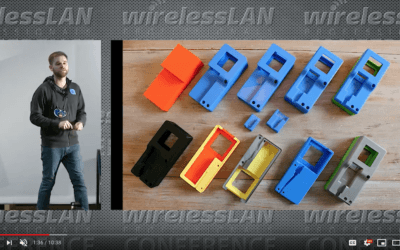 WLAN Pi Handheld Case with Joel Crane a video from WLPC Phoenix 2020