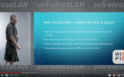 Wi-Fi Pros Slack with Samuel Clements a video from WLPC Phoenix 2020